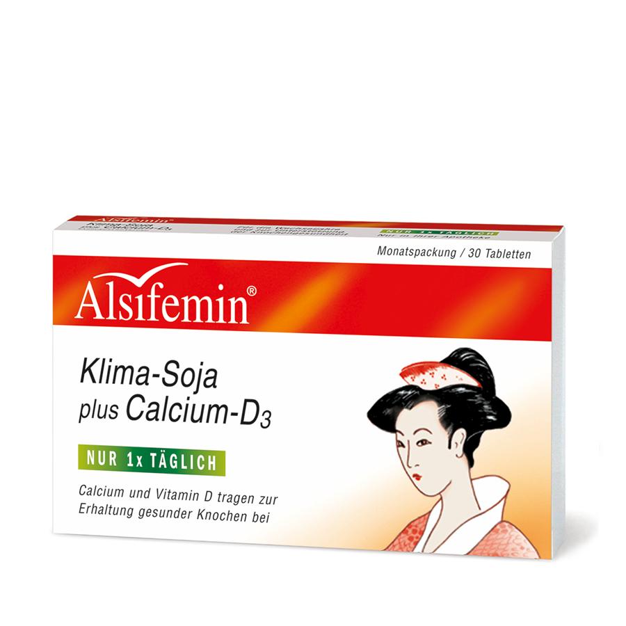 Alsifemin® Klima-Soja plus Calcium-D3